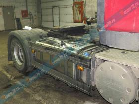 Установка бака Scania под ключ