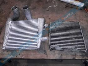 Капитальный ремонт интеркулера Mercedes-lk