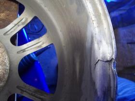 Устранение трещин в диске